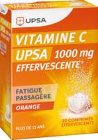 Vitamine C Upsa Effervescente 1000 Mg, Comprimé Effervescent à TOULOUSE